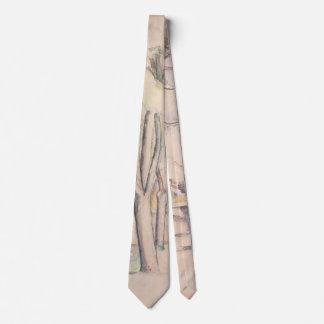 View Thru the Trees by Paul Cezanne, Vintage Art Neck Tie