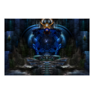 View To Eternity Archival Wall Poster