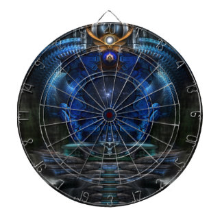 View To Eternity Dartboard With Darts
