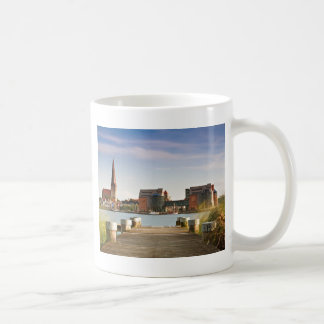 View to Rostock in Germany. Coffee Mug