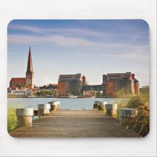 View to Rostock in Germany. Mouse Pad