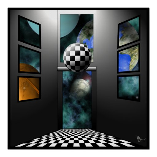 View to Surrealism Poster