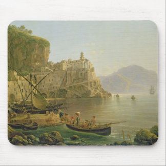 View Towards Atrani on the Amalfi, 1817 Mouse Pad