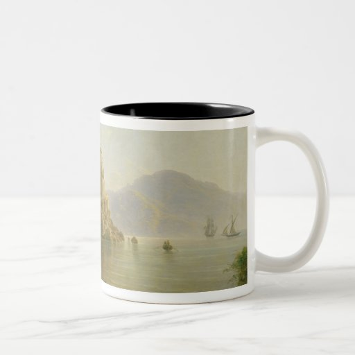 View Towards Atrani on the Amalfi, 1817 Two-Tone Coffee Mug
