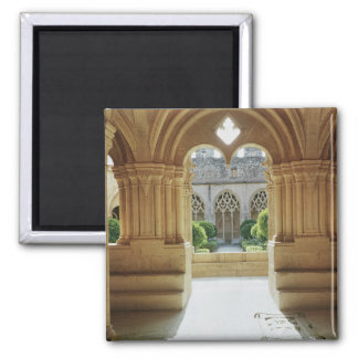 View towards the cloister from the Chapter 2 Inch Square Magnet