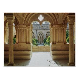View towards the cloister from the Chapter Poster
