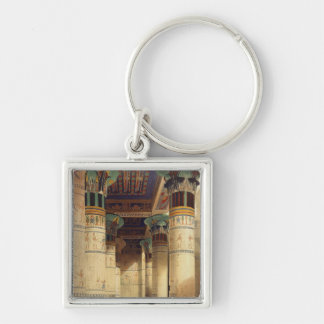 View under the Grand Portico, Philae Key Chain