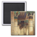 View under the Grand Portico, Philae Magnets