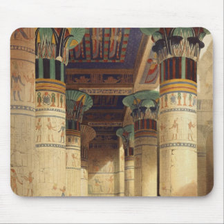 View under the Grand Portico, Philae Mouse Pad