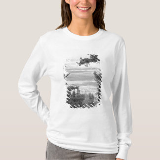 View west from crest of Sandia, Mountains, T-Shirt