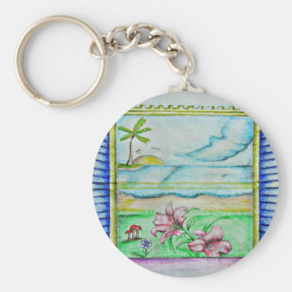 view window of island key chains