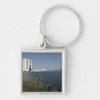 Viewed across the basin, Space Shuttle Atlantis Keychain