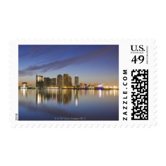 Viewed over The East River with The Ed Koch Postage