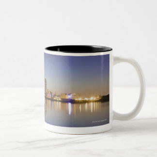 Viewed over The East River with The Ed Koch Two-Tone Coffee Mug