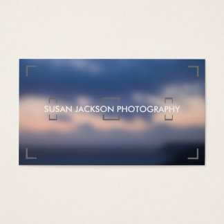 Viewfinder Photography Business Card