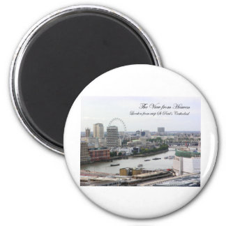 ViewFromHeaven 2 Inch Round Magnet