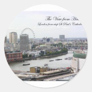 ViewFromHeaven Classic Round Sticker