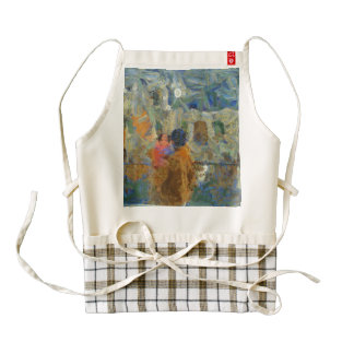 Viewing a heritage site zazzle HEART apron