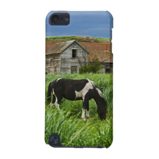 Viewing horses in a field in the Palouse 2 iPod Touch (5th Generation) Case