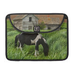 Viewing horses in a field in the Palouse 2 Sleeve For MacBook Pro