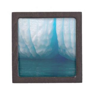Viewing icebergs in blue in the Errera Channel Premium Trinket Box