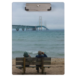 Viewing Mackinac Bridge Clipboard