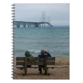 Viewing Mackinac Bridge Notebook
