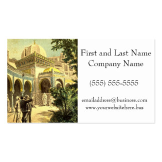Viewing the Middle East Palace Vintage Victorian Double-Sided Standard Business Cards (Pack Of 100)