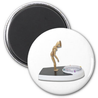 ViewingBathroomScale072310 2 Inch Round Magnet