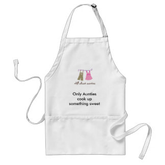 viewlogo.aspx, Only Aunties cook up something s... Adult Apron