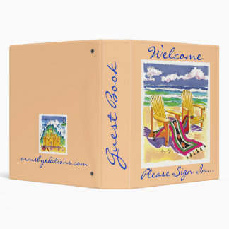 Viewmaster - Guest book 3 Ring Binder