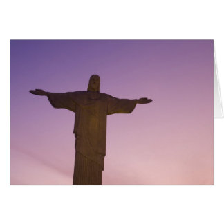 Viewpoint, Christ Statue at Corcovado, 704 Card