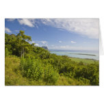 Viewpoint near Grand Riviere Noire, South Greeting Card