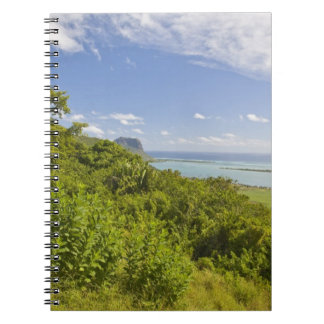 Viewpoint near Grand Riviere Noire, South Spiral Notebook