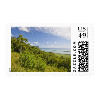 Viewpoint near Grand Riviere Noire, South Postage Stamps
