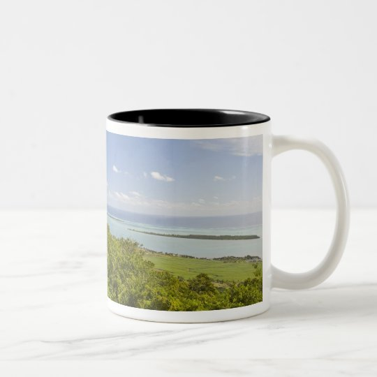 Viewpoint near Grand Riviere Noire, South Two-Tone Coffee Mug