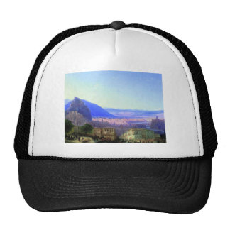 Viewpoint of teihurisu mesh hats