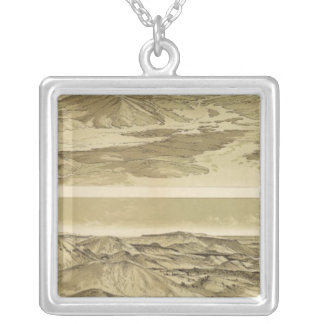 Views from Mount Trumbull and Mount Emma Silver Plated Necklace
