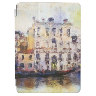 Views od Venice made in artistic watercolor iPad Air Cover