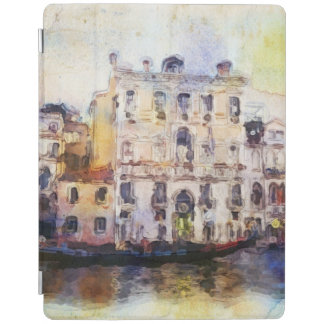 Views od Venice made in artistic watercolor iPad Cover