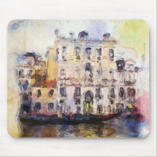 Views od Venice made in artistic watercolor Mouse Pad