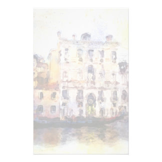 Views od Venice made in artistic watercolor Stationery