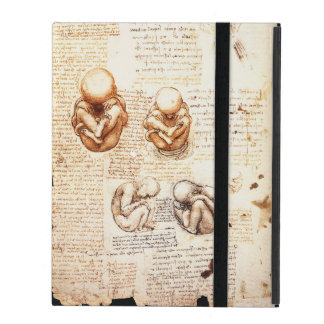 Views of a Fetus in the Womb,Ob-Gyn Medical iPad Folio Case