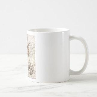 Views of a Foetus in the Womb Classic White Coffee Mug