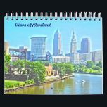 "Views of Cleveland Calendar<br><div class=""desc"">This calendar shows many of the classic views and landmarks in Cleveland,  Ohio !</div>"