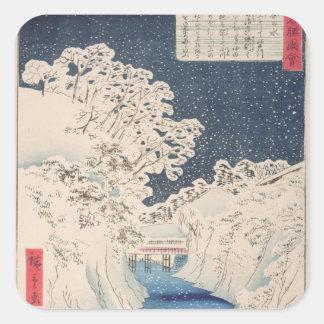 Views of Edo Stickers