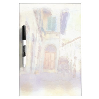 Views of Florence made in artistic watercolor Dry Erase Board