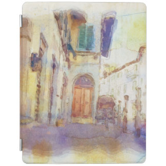 Views of Florence made in artistic watercolor iPad Cover