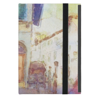 Views of Florence made in artistic watercolor iPad Mini Covers