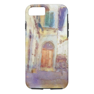 Views of Florence made in artistic watercolor iPhone 7 Case